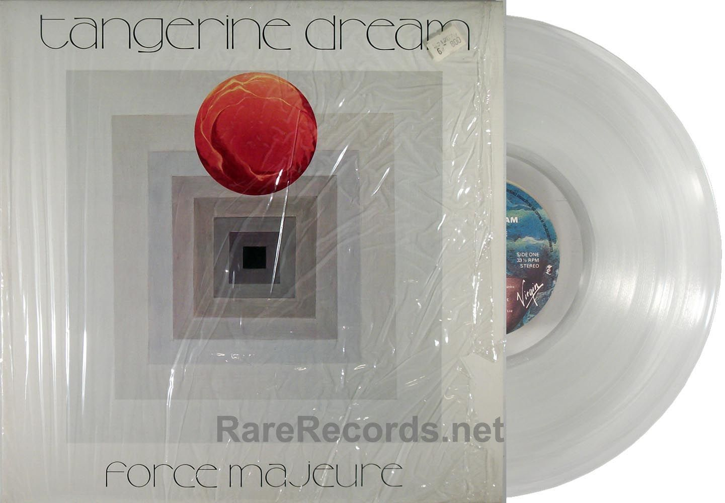 Tangerine Dream Force Majeure Virgin 1979 First Edition Uk Copies Of This Album Were Pressed On Clear Vinyl If You Want T Clear Vinyl Vinyl New Age Music