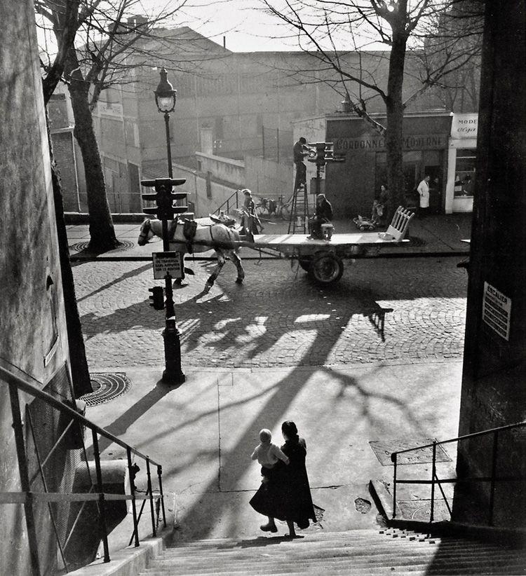 Avenue Simon Bolivar - 1950 © Willy RONIS