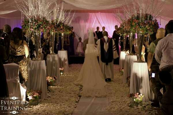 Ceremony And Reception In Same Room