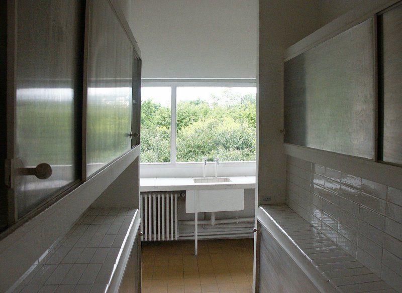 villa savoye sink - Google Search | housing | Pinterest ...Villa Savoye Kitchen