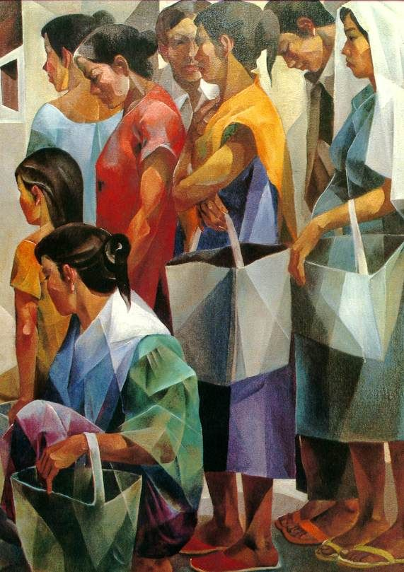 Vicente Manansala | fernando amorsolo paintings in 2019 ...
