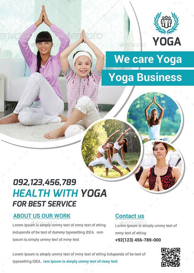 Yoga Flyer Print Templates  Flyer    Flyer Printing