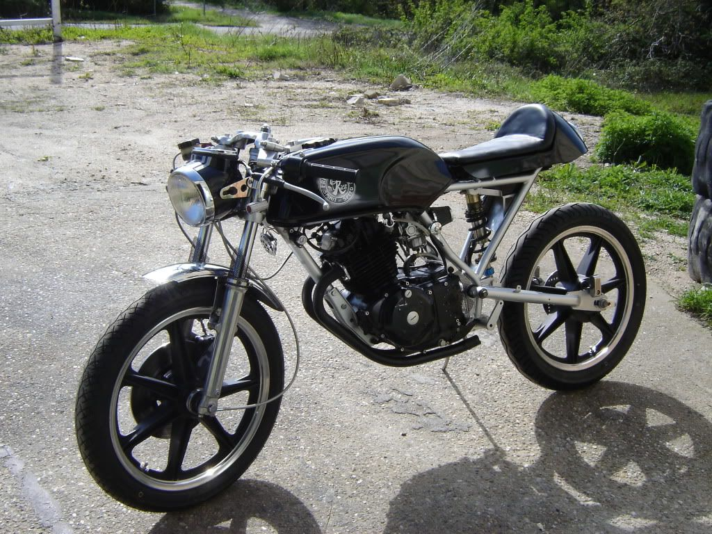 radical honda cb250 cafe racer! « motorcycle photo of the day