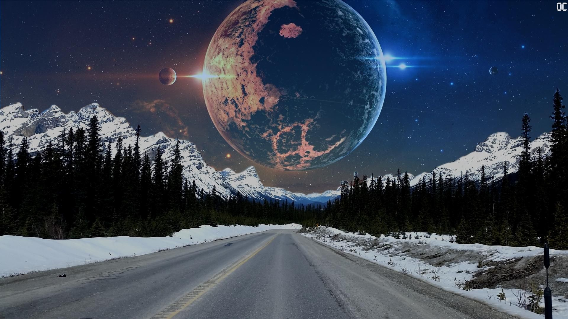 Highway To Space 1920 X 1080 Via Classy Bro Cool Wallpaper High Quality Wallpapers Wallpaper