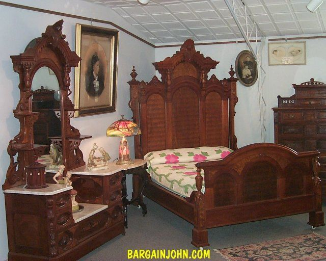 Outstanding Love This Antique Bedroom Suite Its So Grand Furniture Beutiful Home Inspiration Ommitmahrainfo