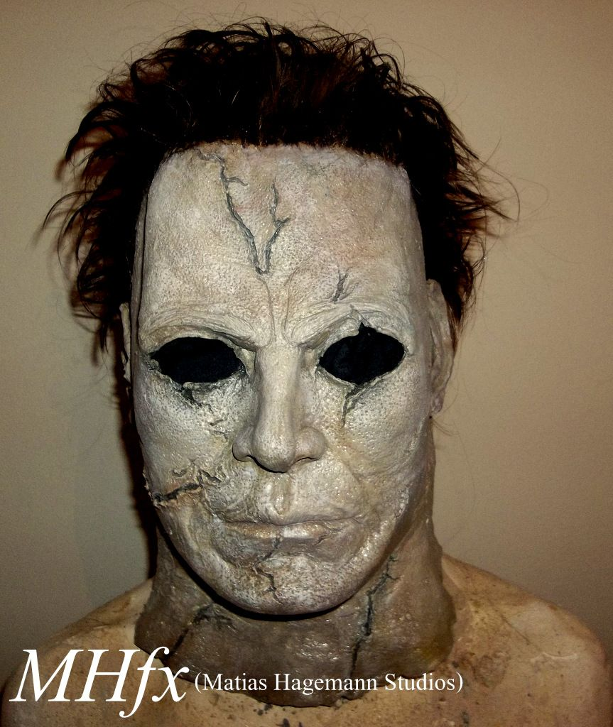 Destroyer Michael Myers latex Halloween mask buried RZ Rob Zombie ...