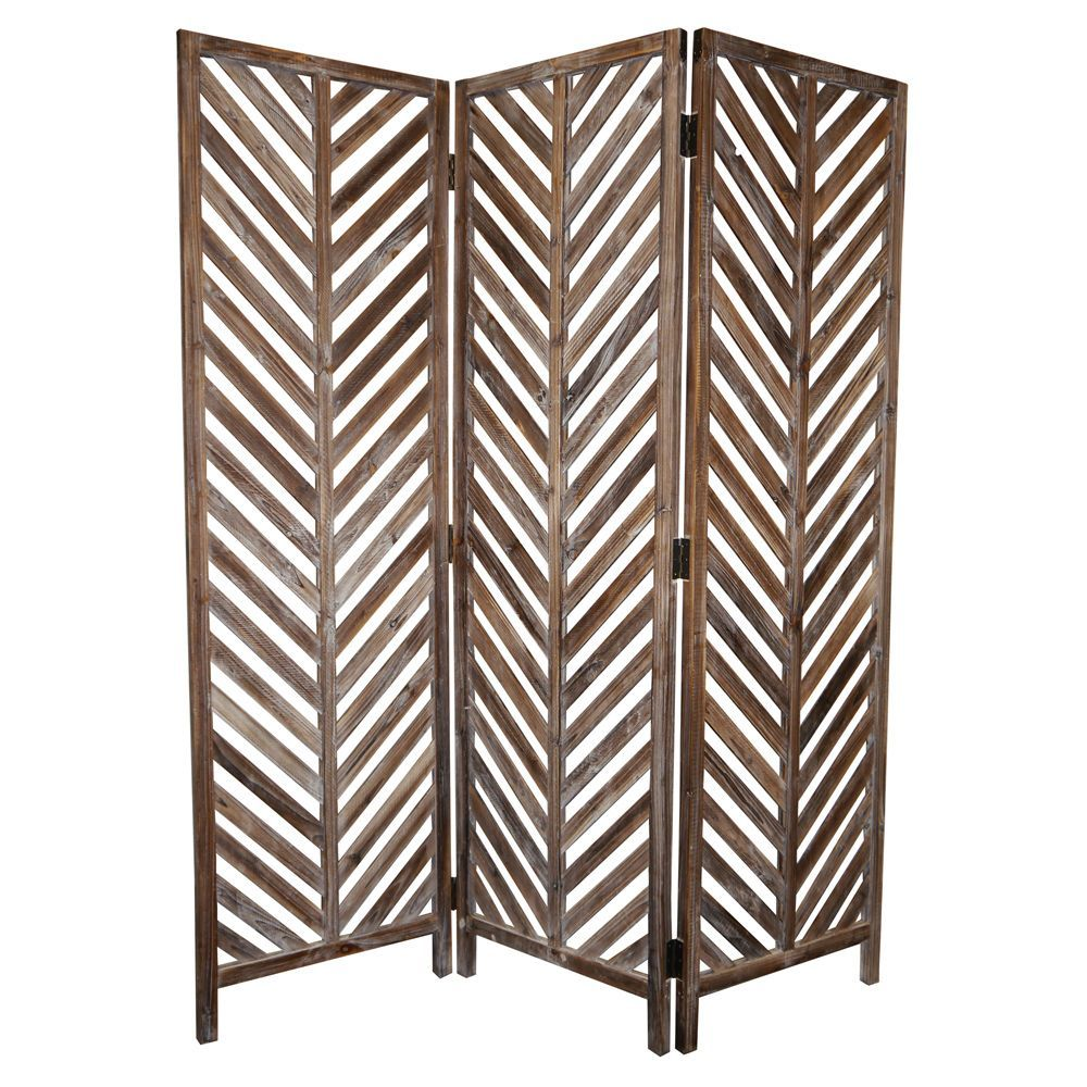 Aloha 3-Panel Wood Screen (China) - Overstock™ Shopping - Great Deals on Decorative Screens