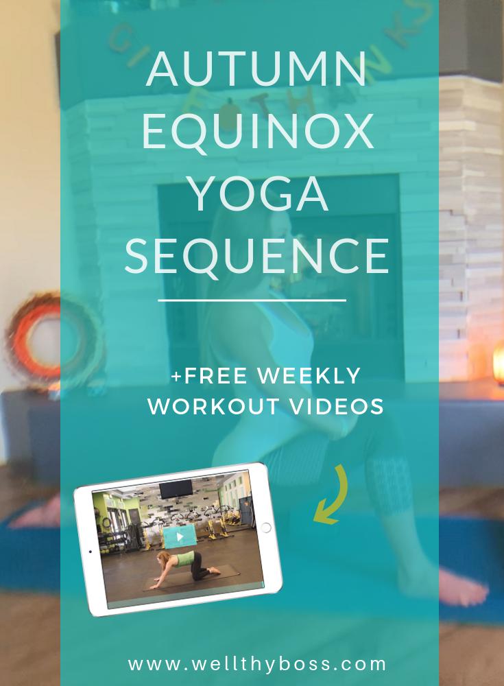 Autumn Equinox Yoga Sequence  #autumnalequinox