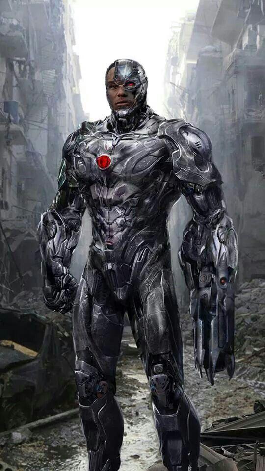 Cyborg Dc Comics Dc Comics Art Superhero