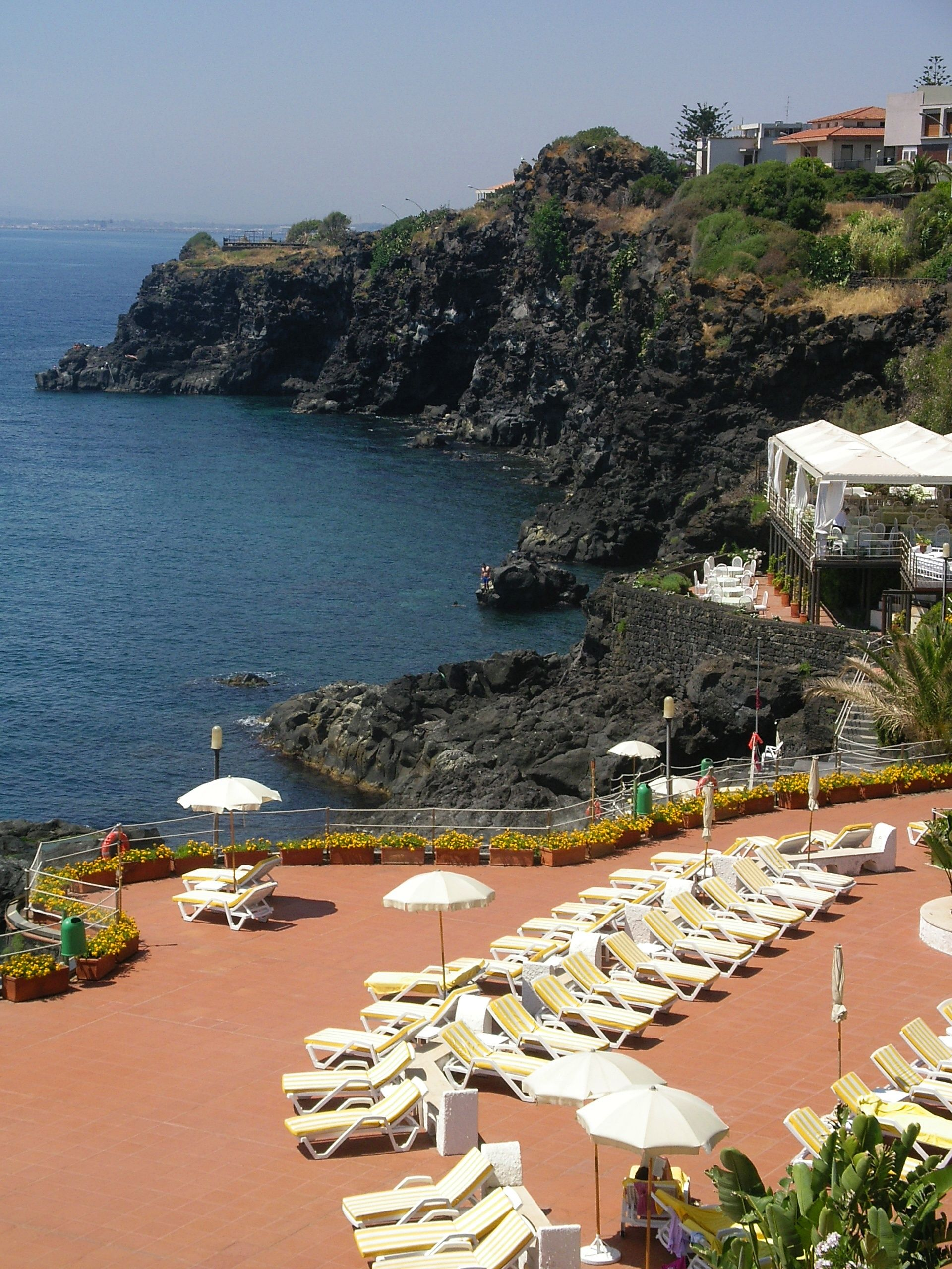 Hotel In Catania Grand Baia Verde Rocky Beach