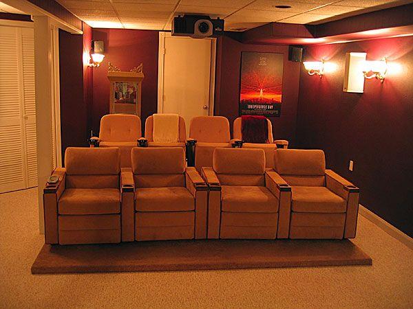 Elegant Diy Home Cinema Design