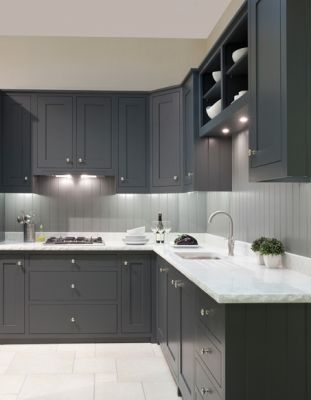 contemporary kitchen with inset cabinetsnewcastle design