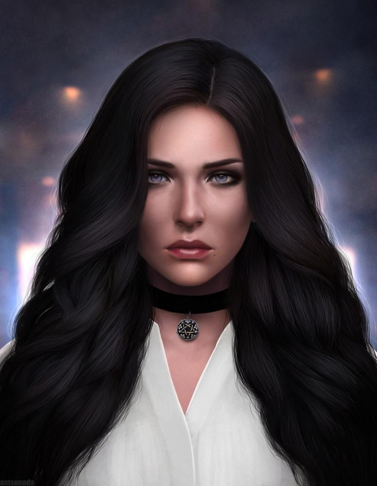 Yennefer By Antsunoda Tumblr Com Thewitcher3 Ps4 Wildhunt Ps4share Games Gaming Thewitcher Thewitcher3wildhunt The Witcher Portrait Digital Art Girl