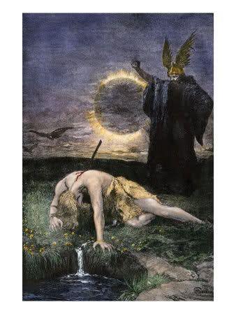 El Cantar De Los Nibelungos Mitología Céltica Nibelungos Mitologia Nordica
