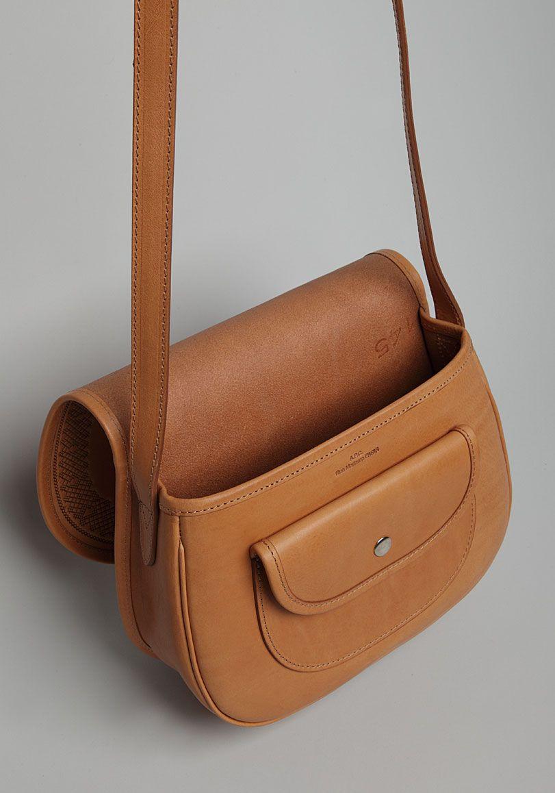 b442584e99 A.P.C.   Saddle Bag