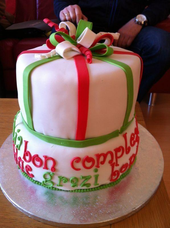 Verjaardagstaart Italië, Curaçao thema