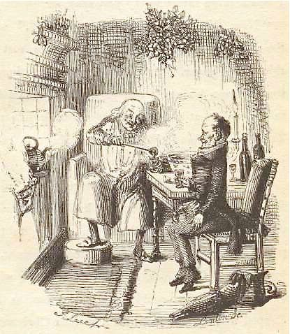 Drinking with Charles Dickens. Scrooge and Bob Cratchit   Christmas carol, Dickens christmas carol