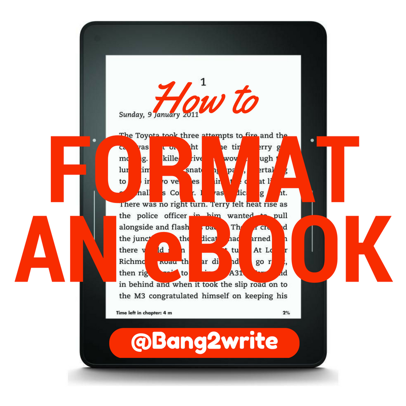 How to format an ebook novel writing publishing pinterest how to format an ebook fandeluxe Epub