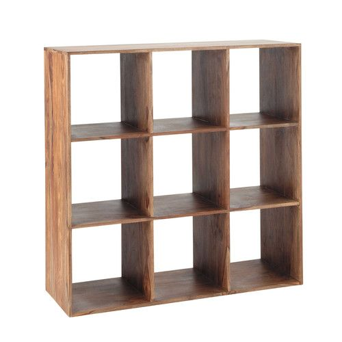 Only 4 Left In Stock 459 90 W 111cm Solid Sheesham Wood Shelf Unit Cube Storage Unit Cube Storage Cube Organizer