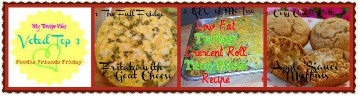 Foodie Friends Friday Top 3