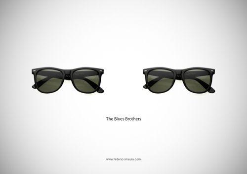 #glasses #ilustraciones #Thebluesbrothers