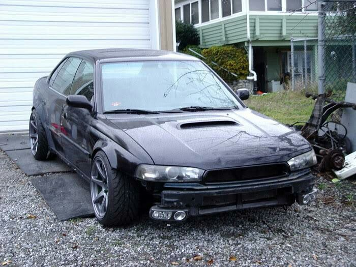 99 Legacy GT W 90 Honda Accord Front Fender Flares Welded On All Metal
