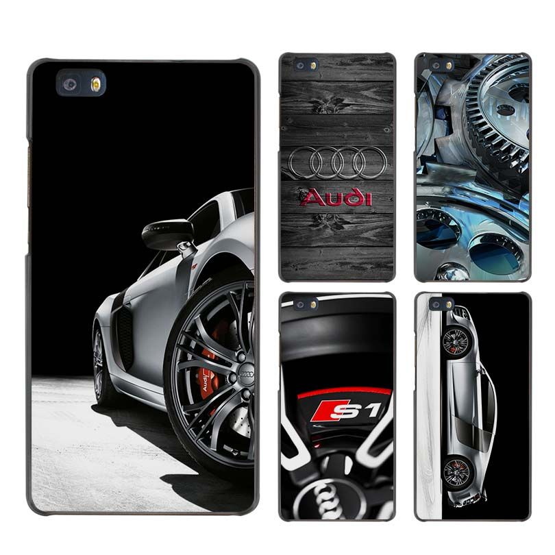 Audi RS4 RS6 RS7 RS8 Hard Case Black Cover Scrub For