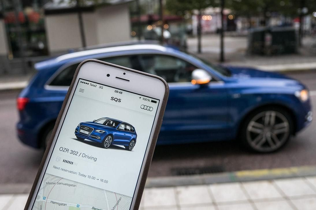 Audi Readying First U S Car Sharing App