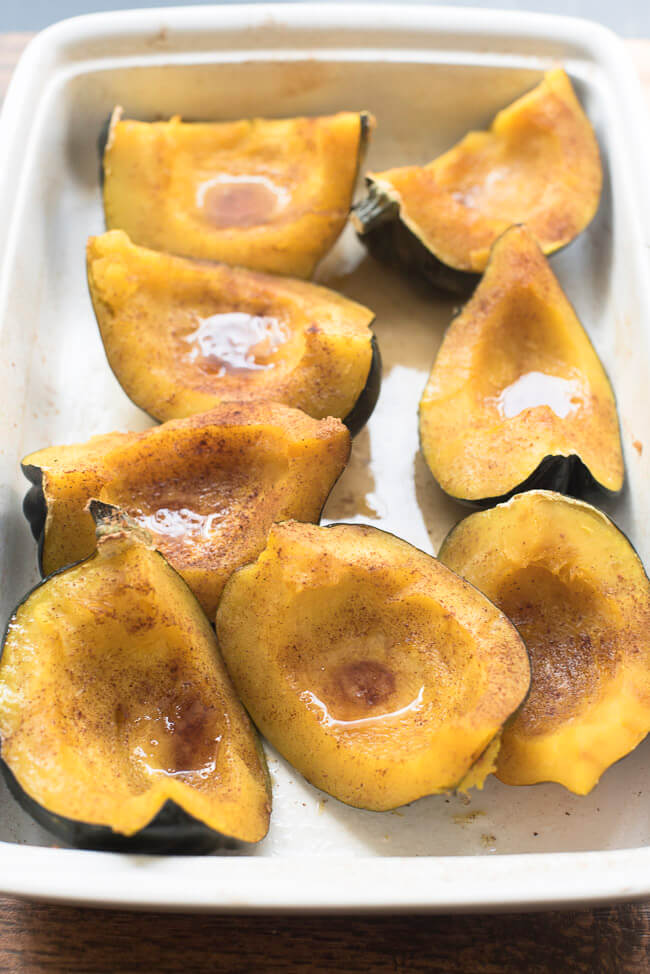 Sweet Baked Acorn Squash Is Easy To Make And So Delicious This