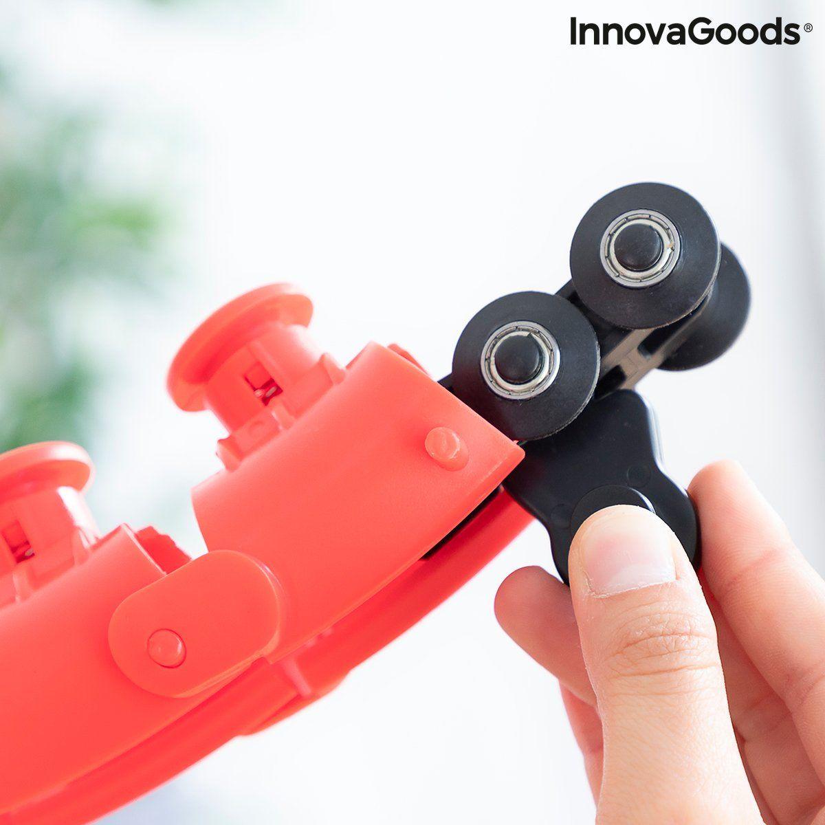 Adjustable Smart Fitness Hoop with Weight Fittehoop InnovaGoods