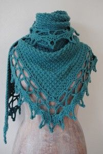 Beautiful shawl...seems like a cool website too.  Need some time to check out the site later.