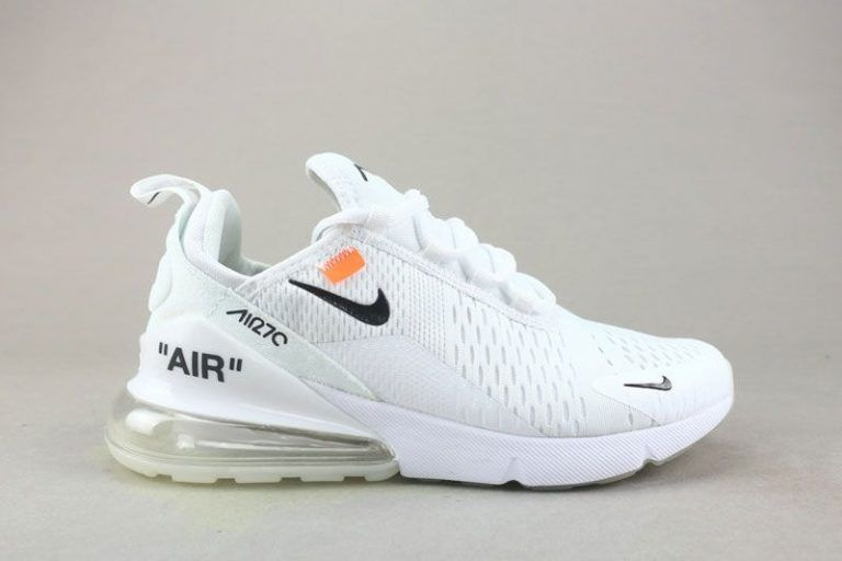 Off White Nike Air Max 270 In White For Women S Size Nike Air Max White Nike Shoes Air Max Nike Air Max For Women