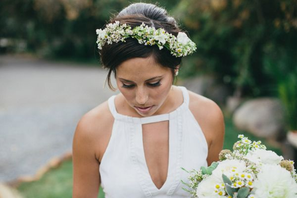 love the neckline on this boho wedding gown wedding gown dresses