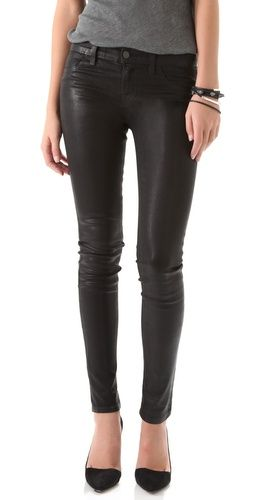Kind of amazing waxed @jbrandjeans .  An easy going alternative to leather pants