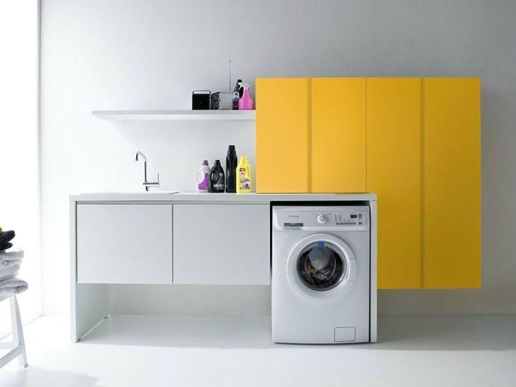Waschküche Schrank mut zur farbe im hauswirtschaftsraum modularer waschküche schrank