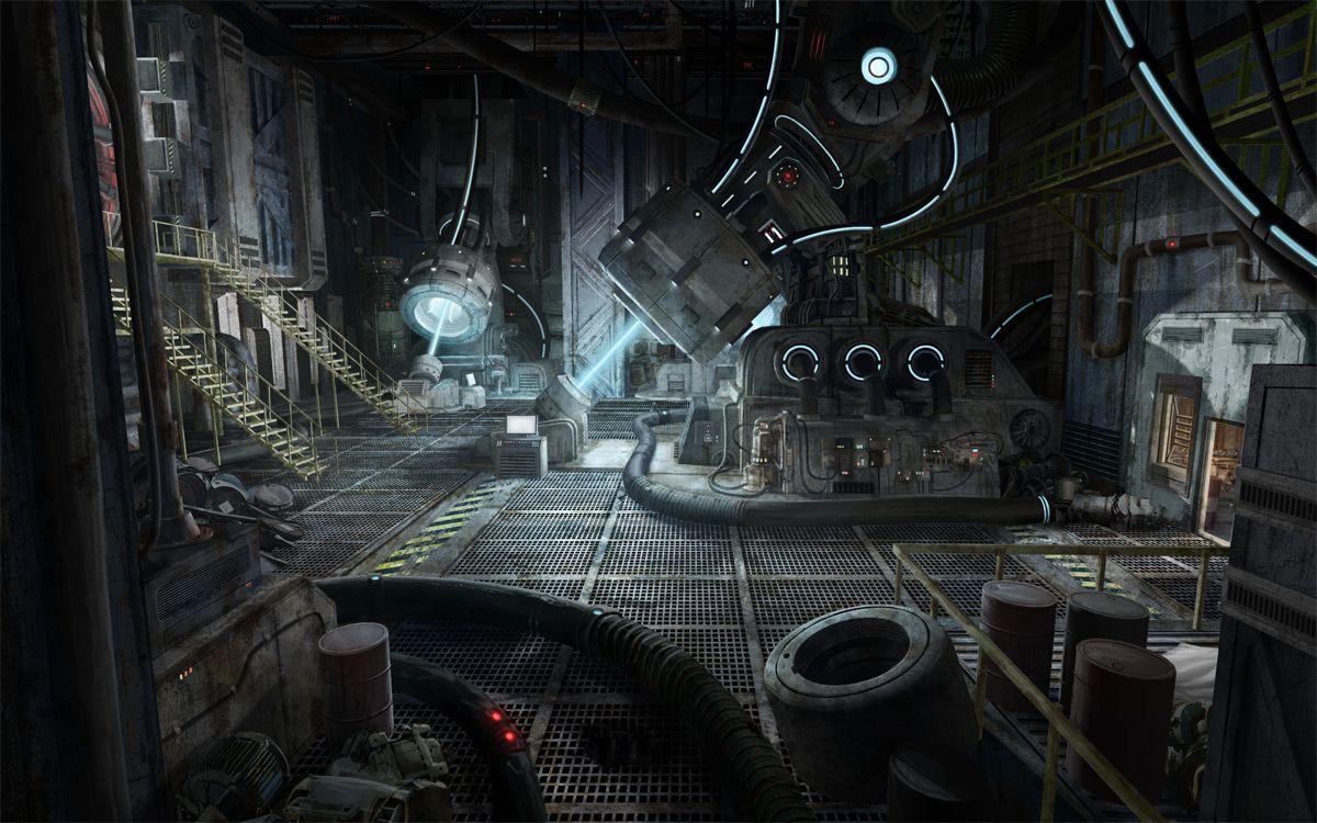 Spaceship Engine Room Recherche Google Environments