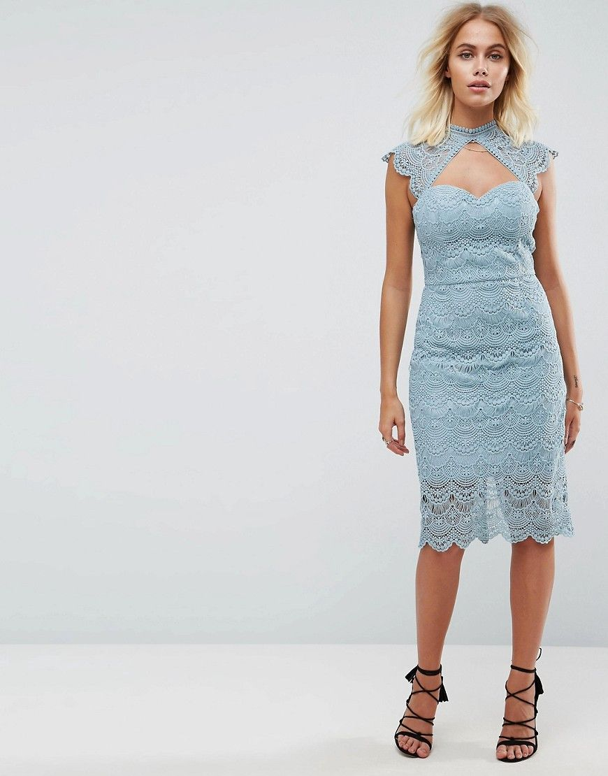 bb99220195d Asos Contrast Lace Cami Midi Prom Dress - Gomes Weine AG