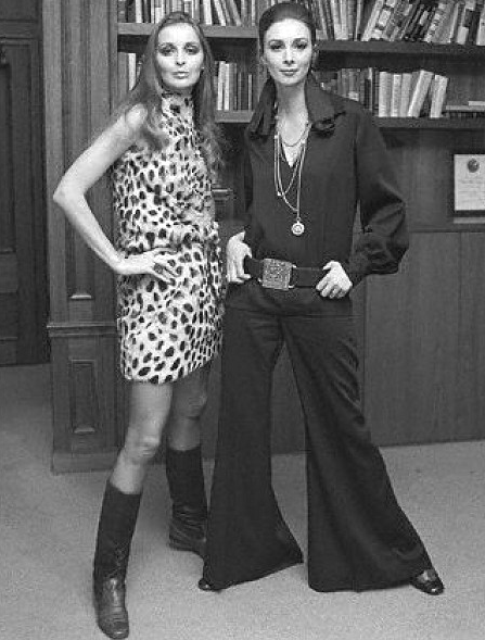 1970s fashion~love both outfits  clothes  Pinterest  1970s and 70s fa...