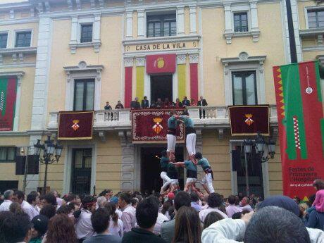 Plaça de l'Ajuntament en Hospitalet de Llobregat, Cataluña