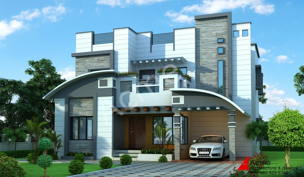Have A Look At This European Type Home Plans By Jai Constructions European Type Homes Are Rich In Exterior As House Plans House Styles Modern House Design