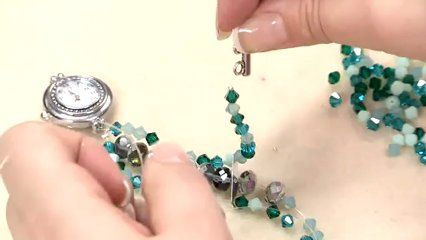 How To Make Beaded Watch Bands Beaded Watches Bracelet Jewelry