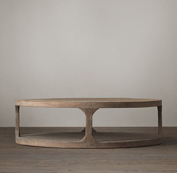 Round Coffee Table Restoration Hardware 3
