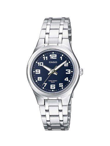 414739dc07ea Casio Casio Collection - Reloj analógico de mujer de cuarzo con correa  inoxidable