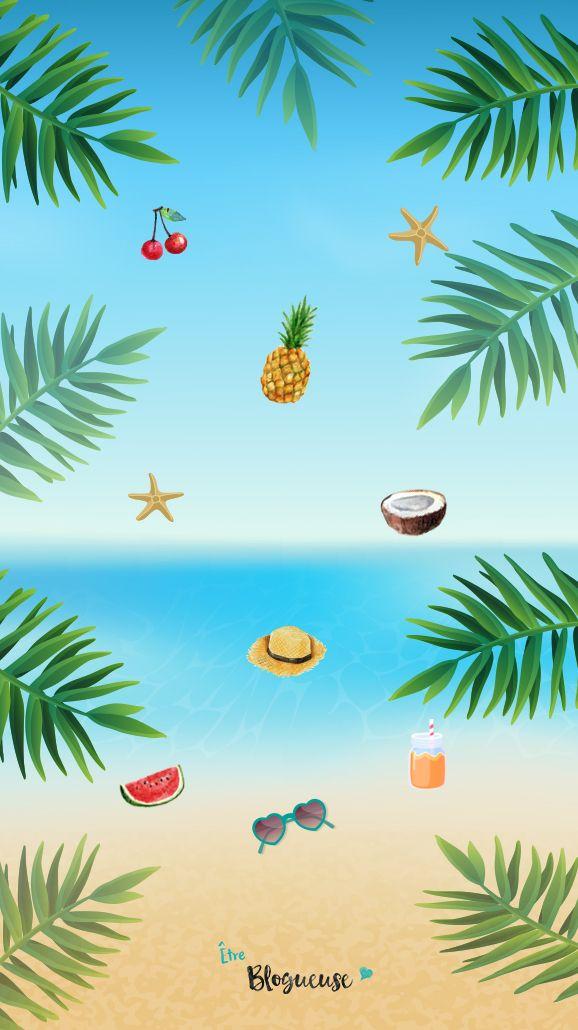 Fond d 39 cran estival pour iphone et tous les autres for Theme ecran