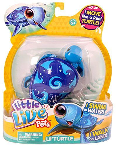 Little Live Pets Turtle Is The Cutest Pet Friend That Moves And