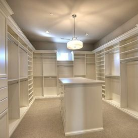 Transitional Closet by Cullum Homes and Renovations | Closets ...