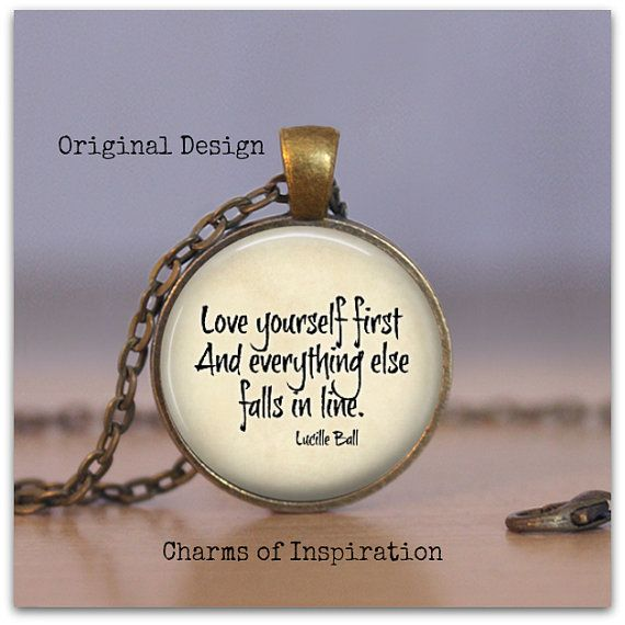 Love yourself first inspirational quote necklace quote jewelry love yourself first inspirational quote necklace quote jewelry boho jewelry love word necklace solutioingenieria Images