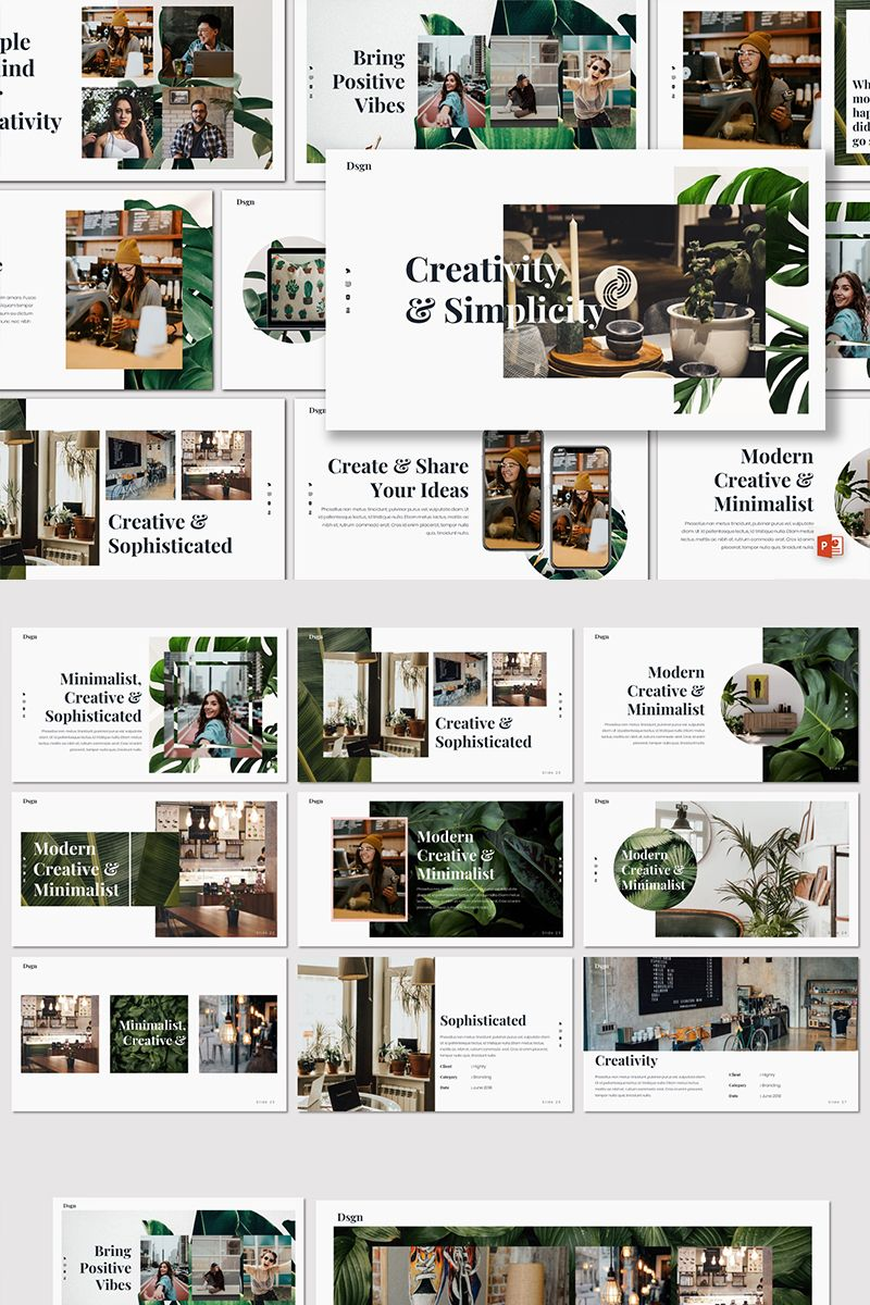 Dsgn - Creative PowerPoint Template #80143