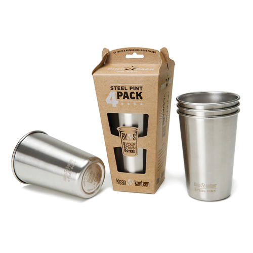Photo of Klean Kanteen 16 oz. Kanteen Pint Cup – 4 Pack