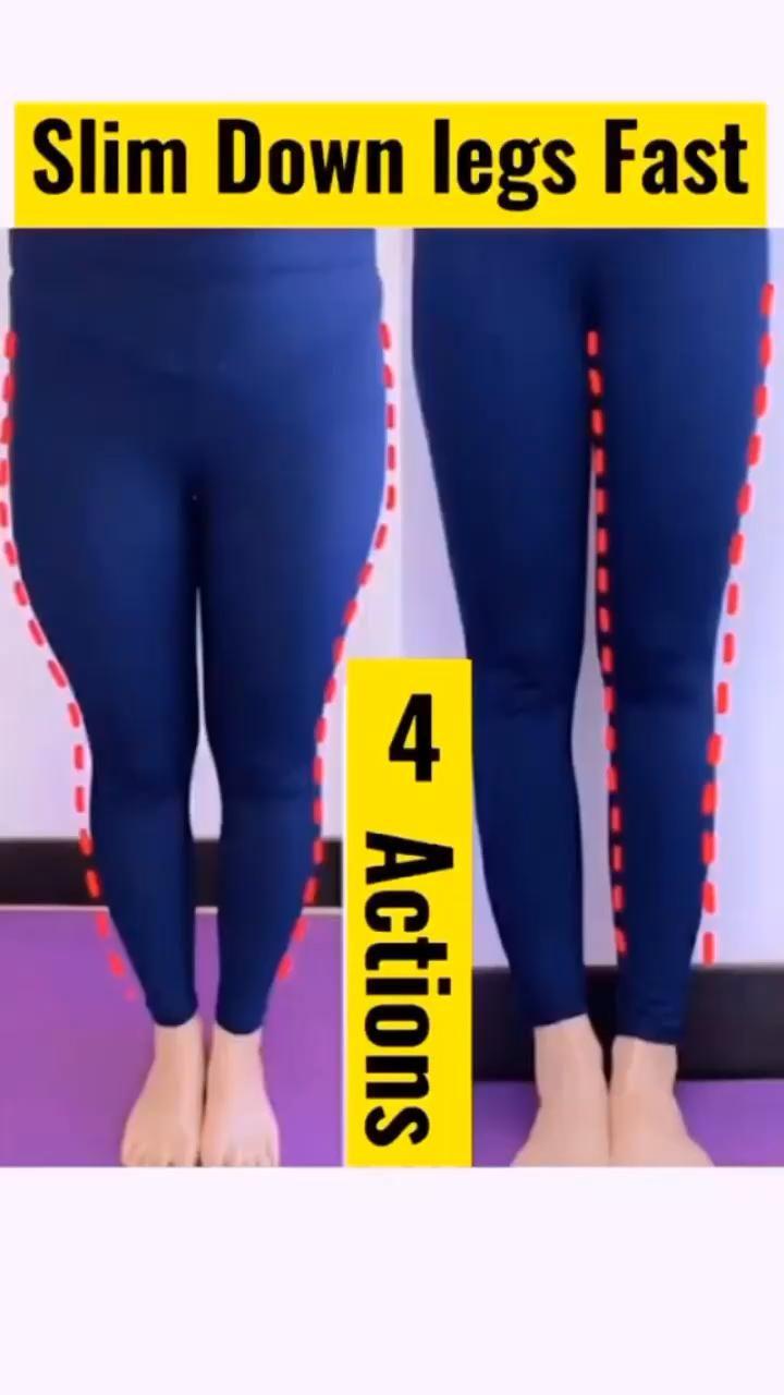 slim down legs